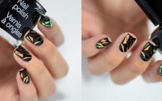 Битое стекло для ногтей