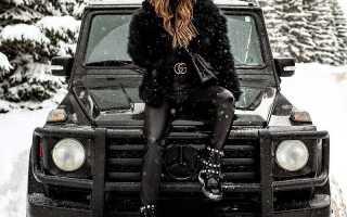 Зимняя обувь на платформе фото