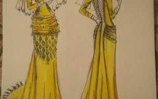 Рисунки мода и стиль