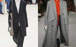Какую сумку носить с пальто