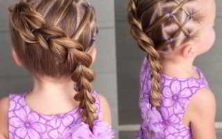 Красивые прически на средние волосы для девочек