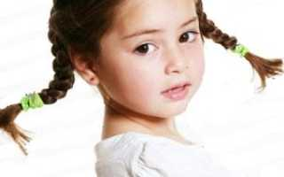 Косы для девочек на средние волосы