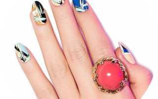 Варианты рисунков на ногтях гель лак