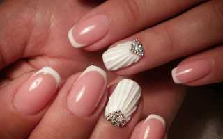 Выпуклые рисунки на ногтях