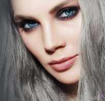 Дымчатый цвет волос