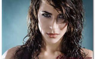 Кудри на мокрые волосы