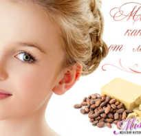 Крем для лица с маслом какао