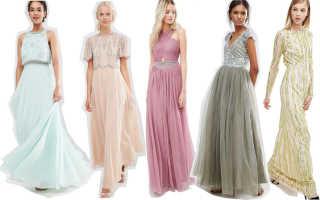 Какое платье можно