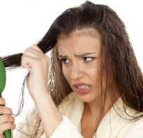 Выпадают волосы у девушки