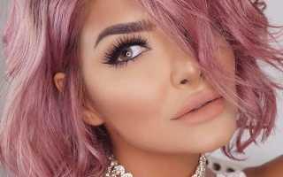 Краска для волос розового цвета