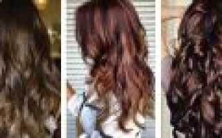 Затемнить волосы народными средствами