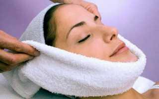 Как распаривать кожу лица