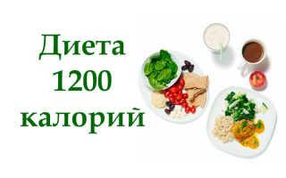 Питание на 1200 калорий отзывы
