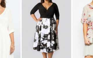 Идеальное платье для полных