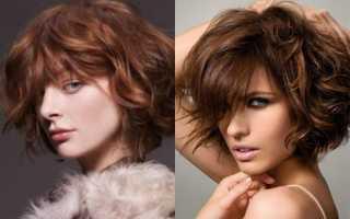 Каре с удлинением на волнистые волосы