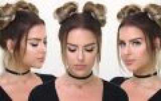 Красивые гульки на средние волосы