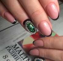 Выкладка камней на ногтях фото
