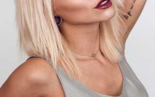 Белокурый цвет волос фото