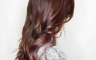 Красивые шоколадные оттенки волос