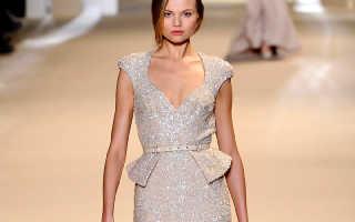 Блестящие платья на новый