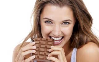 Какой шоколад можно есть при похудении