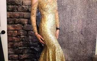 Вечернее платье для нового года