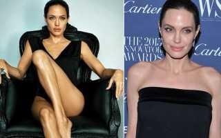 Джоли похудела до 37
