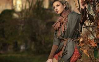 Мода осень 2018 одежда и обувь