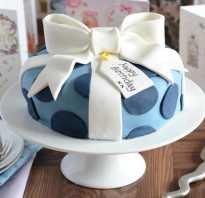 Украшение торта для мужчины без мастики