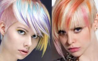 Креативные прически на короткие волосы женские фото