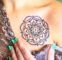 Сколько держатся переводные татуировки