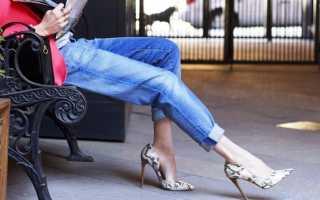 Какую обувь носить с джинсами осенью 2018