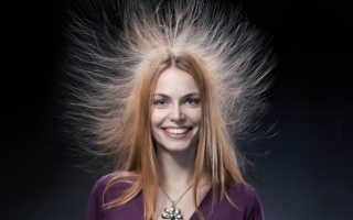 Как пригладить торчащие волосы
