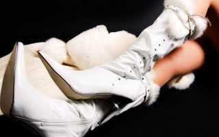 Как почистить светлую кожаную обувь