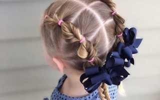 Косы для девочки на длинные волосы