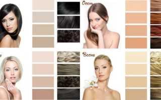 Красивый темный цвет волос фото