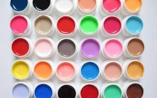 Гель краска для дизайна ногтей