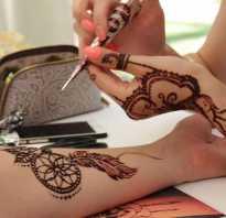 Как сделать татуировку хной в домашних условиях