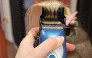 Как делать полировку волос