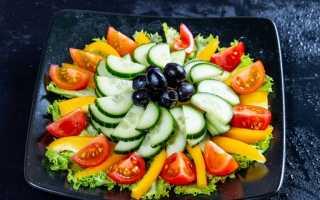 Нарезки из овощей для украшения