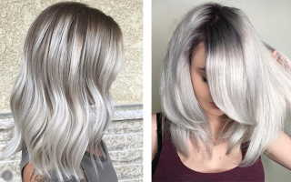 Матовый цвет волос