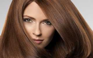 Коричневый цвет волос палитра
