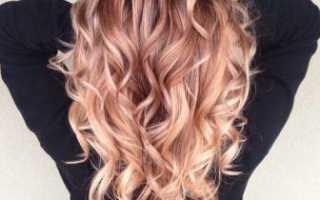 Завитушки на волосах