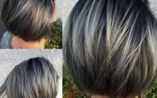 Каре с удлинением на средние волосы фото