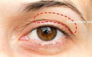 Макияж глаз с нависшим веком пошаговое фото
