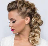 Косы на средние волосы с челкой фото
