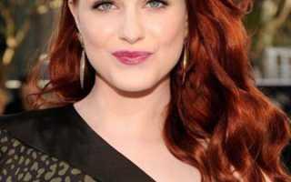 Как поддерживать рыжий цвет волос