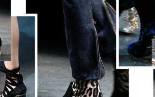 Модная обувь в 2018 году для женщин