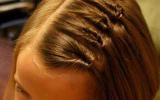 Как можно заплести волосы в школу