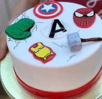Украшение торта для подростка